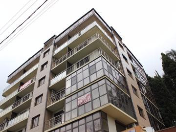 033 Двухкомнатная квартира с открытым балконом и видом на море