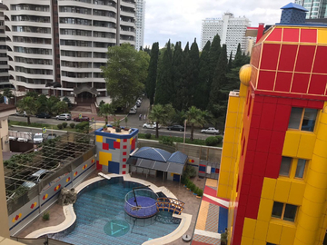 909 Двухкомнатная квартира в клубном доме с бассейном у моря