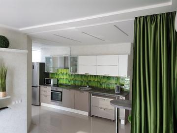 127 Современные апартаменты с видом на море у набережной