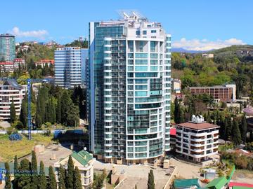 280 Апартаменты на первой линии моря в Сочи