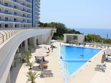 ЖК Идеал Хаус - Двухкомнатная квартира с балконом и видом на море