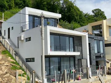 Дом в Хосте с видом на море бассейн летняя кухня беседка