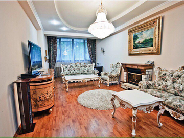ул. Нагорная - Двухуровневая квартира в центре города у моря
