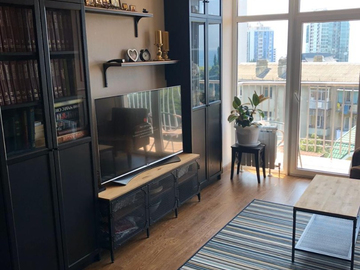 Новый дом на Светлане - Трёхкомнатная квартира с видом на море