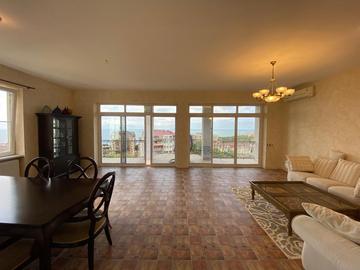 Клубный дом на Бытхе Южный склон - Трёхкомнатная квартира с открытыми балконами и видом на море