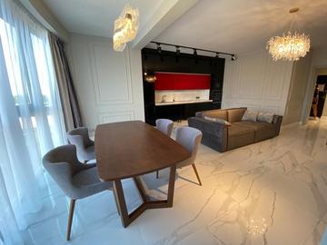 Просторная квартира на Парковой с новой мебелью и современным ремонтом