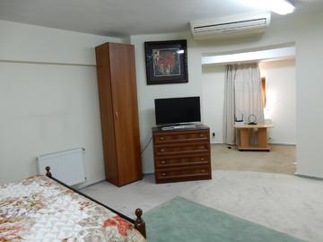 пр. Пушкина - Двухкомнатные апартаменты на первом этаже в доме с бассейном